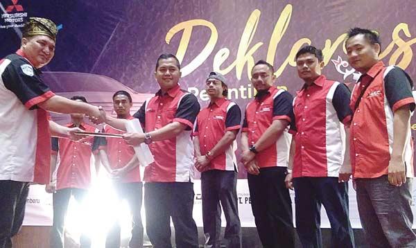 Mitsubishi Bersama Komunitas Xpander Resmikan X-MOC Riau