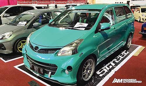 Kontes Modifikasi Daihatsu  Tantang 51 Modifikator di Balikpapan