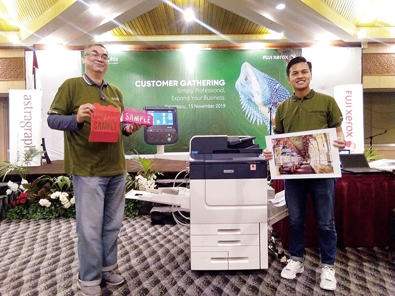 Astragraphia Perkenalkan Mesin Production Printer Fuji Xerox Prime