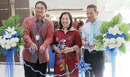 Aulia Hospital Resmikan  Counter Khusus Mandiri Inhealth