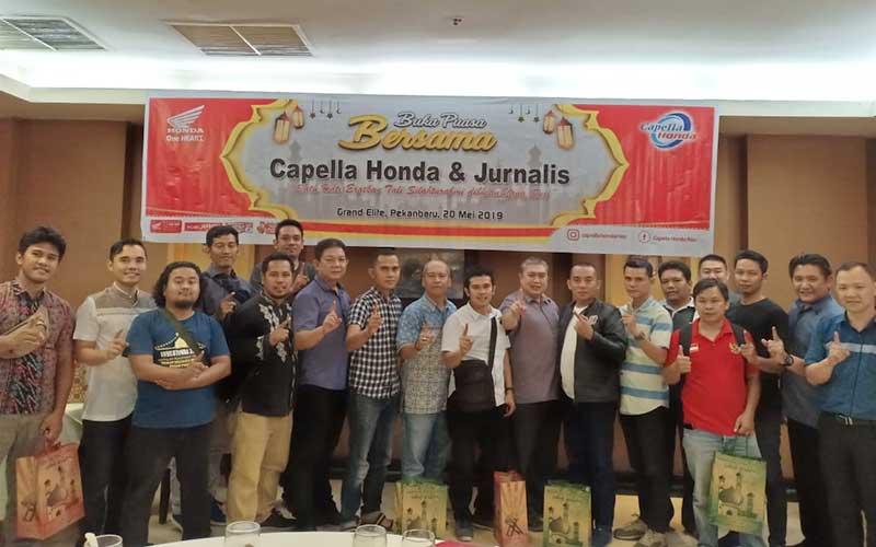 Buka Bersama PT Capella Dinamik Nusantara dengan Wartawan