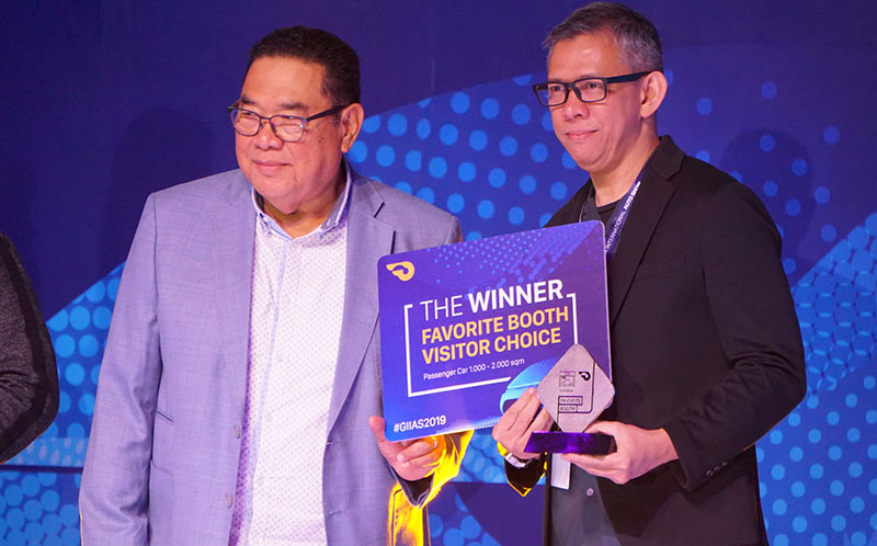 4 Tahun Berturut-turut, Daihatsu Sabet Gelar Booth Favorit GIIAS 2019