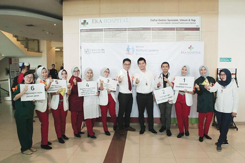 Eka Hospital Komitmen Terapkan Patient Safety