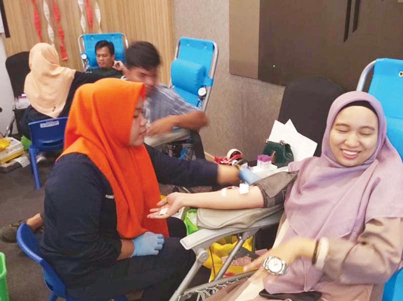 FOX Harris Hotel Gelar Aksi Donor Darah