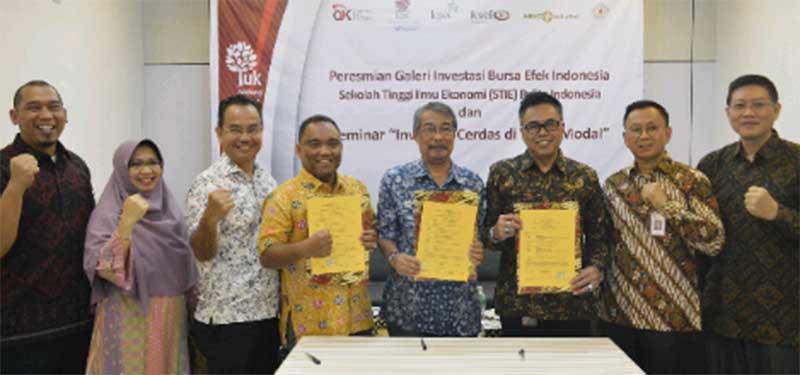 Pelita Indonesia Resmikan Galeri Investasi