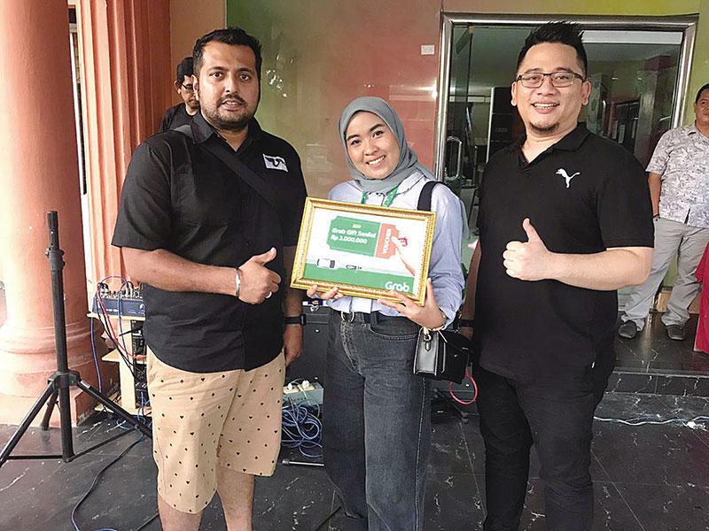 Grab Dukung Komunitas di Pekanbaru