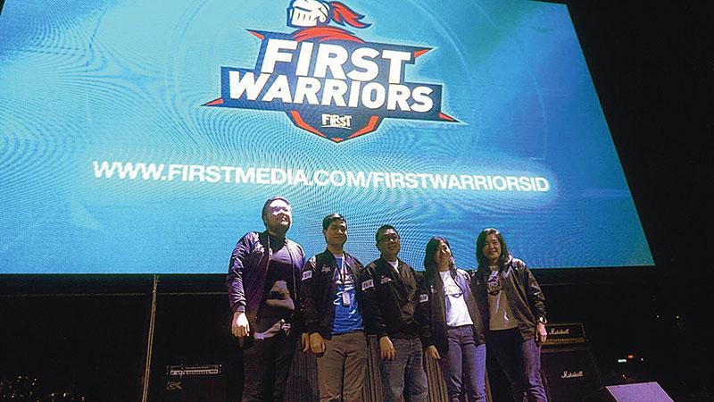 First Media Luncurkan First Warriors, Audisi eSports Pertama di Indonesia