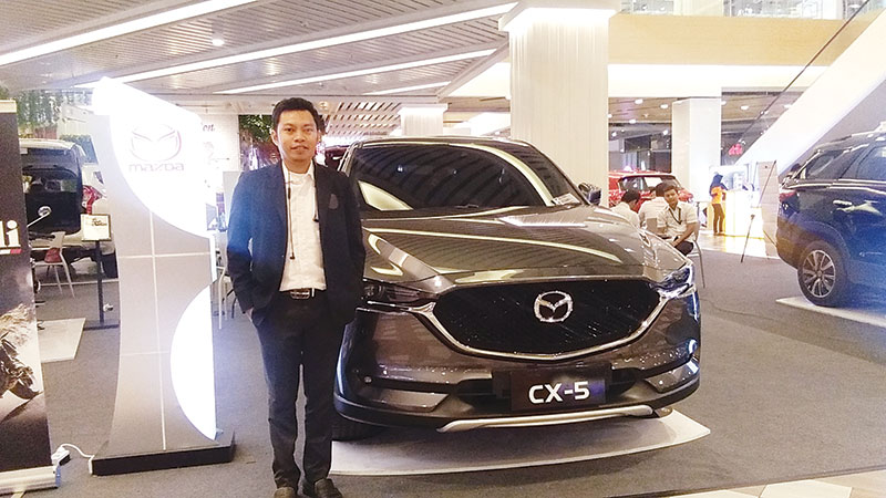 Mazda Manjakan Pelanggan di Living World
