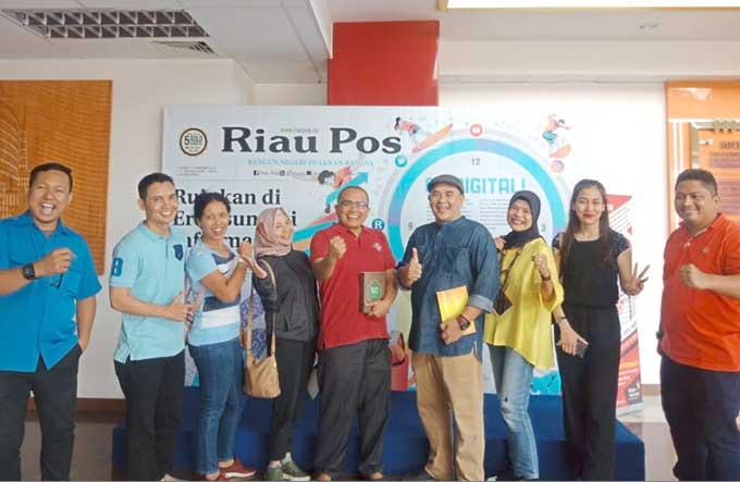 SKK Migas Sumbagut Kunjungi Riau Pos