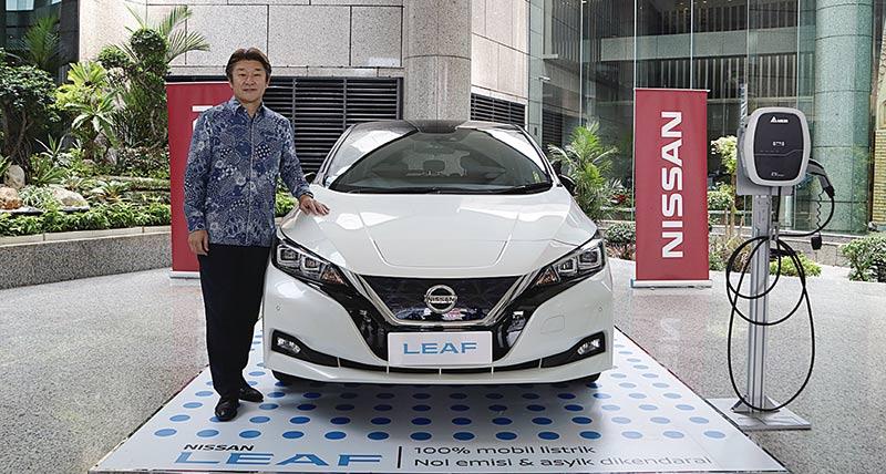 Nissan Dorong Penggunaan Mobil Listrik