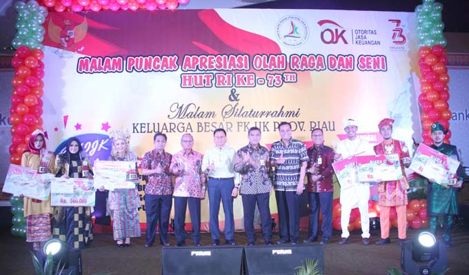Malam Apresiasi Jadikan FKIJK Riau Tambah Solid