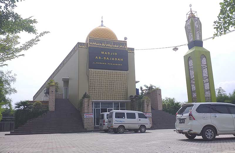 Masjid As Sajadah Terinspirasi Bangunan di Turki