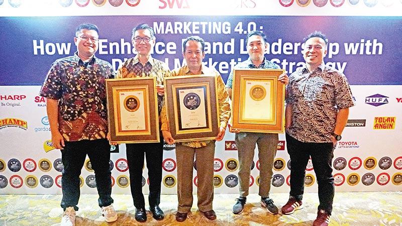 Sharp Terima Tiga Penghargaan di IBBA 2019