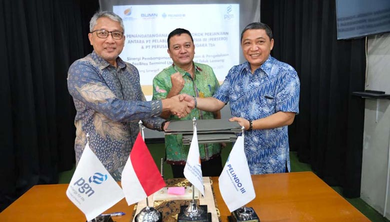 PGN dan Pelindo III Sinergi Bangun Terminal LNG