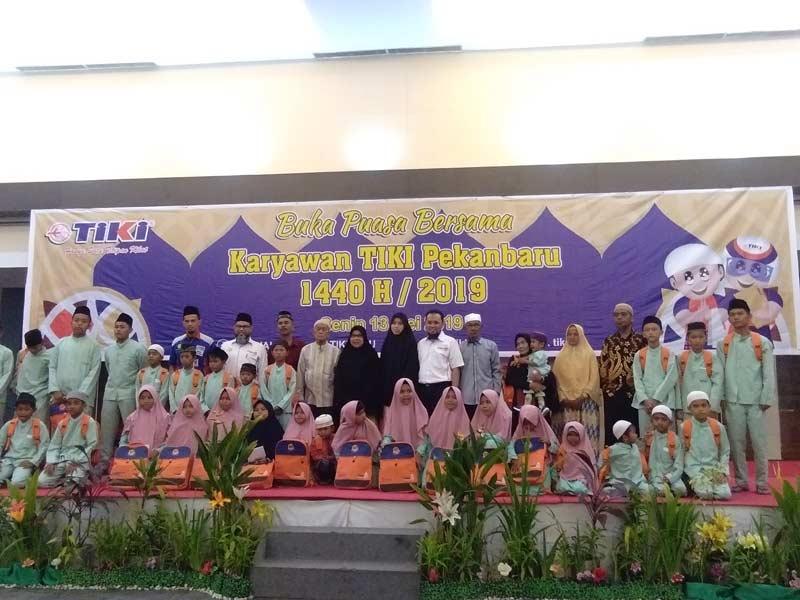 TIKI Riau Gelar Buka Bersama Anak Yatim