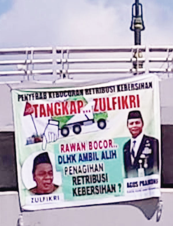 Sorot Penertiban Retribusi Sampah