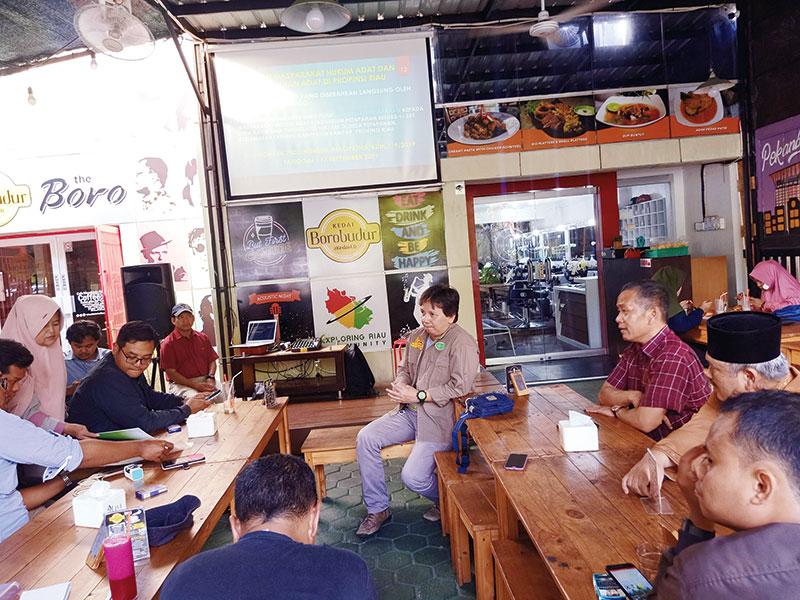 308 Komunitas Adat Riau Teridentifikasi