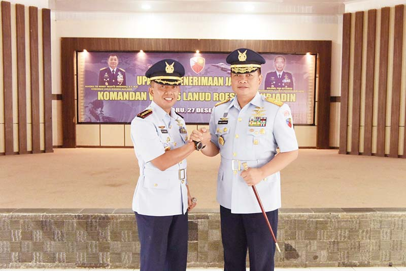 Setiawan Jabat Komandan Wing 6 Lanud RSN