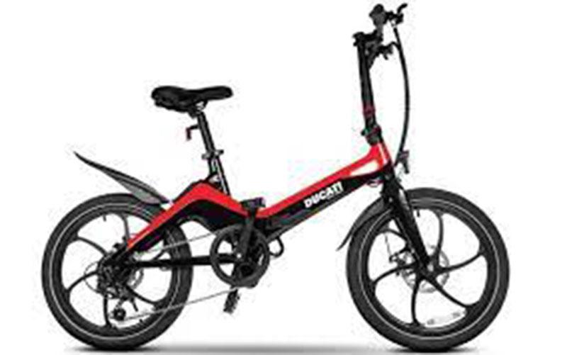 Ducati Rilis Sepeda Lipat Listrik Terbaru