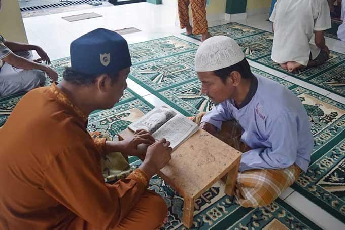 Warga Binaan Ikuti Program Wajib Mengaji