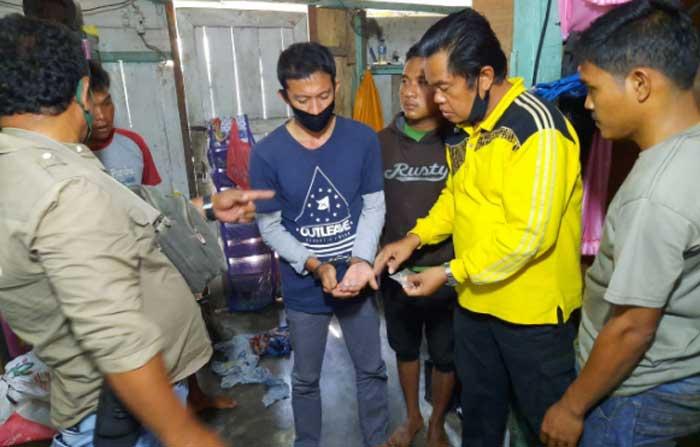Polres Kuansing Temukan 4 Plastik Sabu dalam Kamar