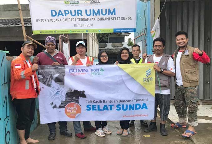 PGN Salurkan Bantuan di Lampung