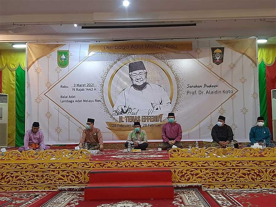 Karya Almarhum Tenas Effendy Jadi Pedoman Masyarakat Melayu