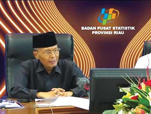 April, TPK Hotel Berbintang di Riau 34,53 Persen