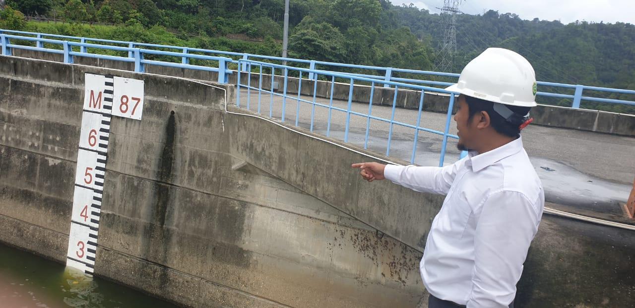 Waspada, Pintu Spillway PLTA Koto Panjang Dibuka, Ketinggian Air Meningkat