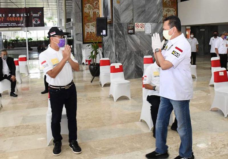 MPR Sebar Ribuan Paket Kesehatan untuk Ojol dan Jurnalis