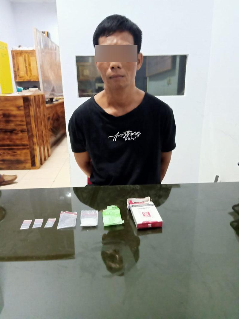 Pengedar Sabu Ditangkap Reskrim Polsek Pangkalan Kerinci