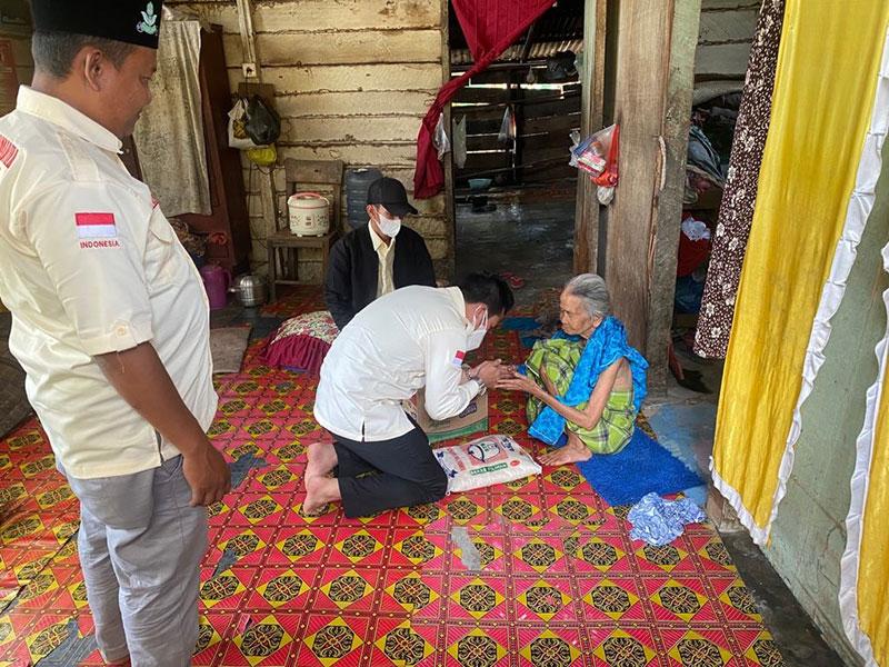 PD dan PC Pemuda Muhammadiyah Berikan Bantuan Sembako