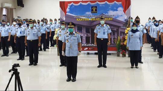 Kepala Kanwil Kemenkumham Riau Diganti