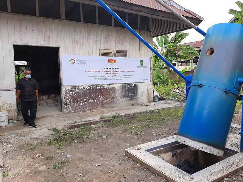 Kementerian Perindustrian Bantu Alat Peleburan Logam IKM Riau