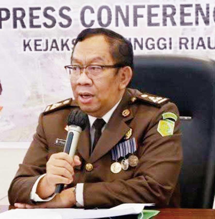 Eks Pejabat Kejati Riau Diklarifikasi Kejaksaan Agung