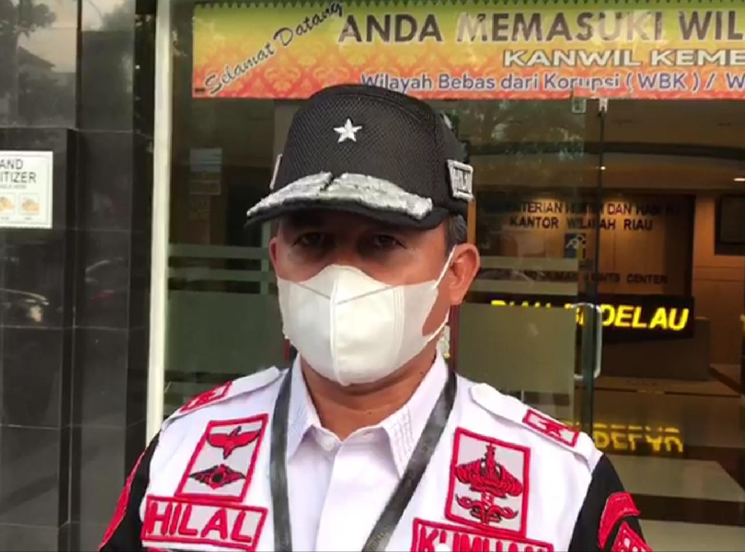 533 Warga Binaan se-Riau Positif Covid-19