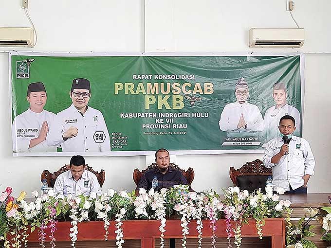 14 PAC PKB Inhu Usulkan Dodi Irawan Jadi Ketua DPC