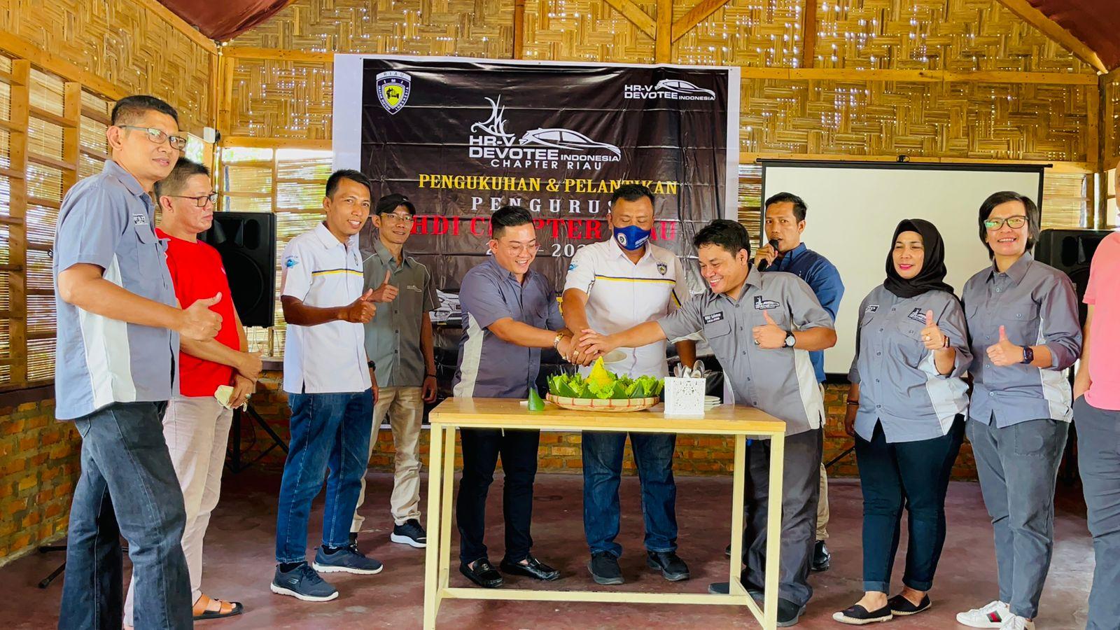 Ketua HRV Devotee Indonesia Chapter Riau Resmi Dilantik