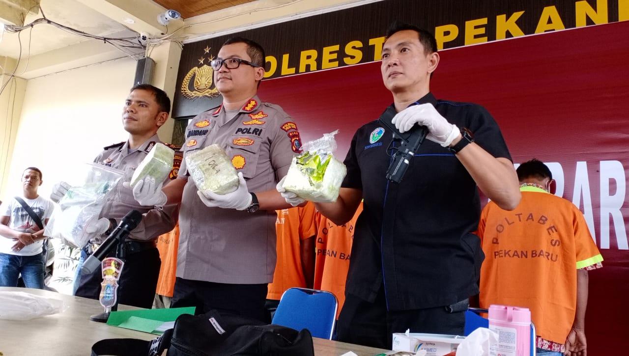Sabu 3.1 Kg Diamankan dari Sindikat Narkoba Internasional, Polisi Temukan Air Soft Gun