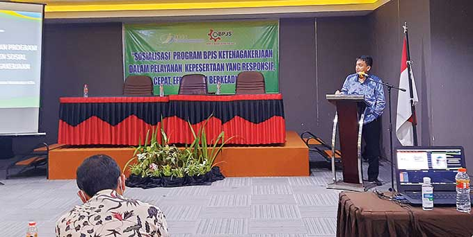 MP BPJS Sosialisasikan Program BPJS Ketenagakerjaan
