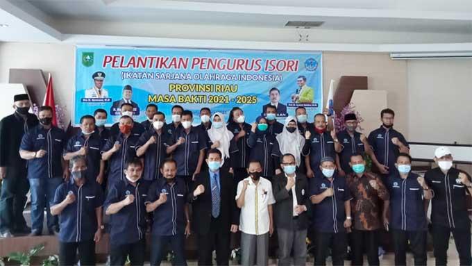 Pengurus ISORI Riau Dilantik