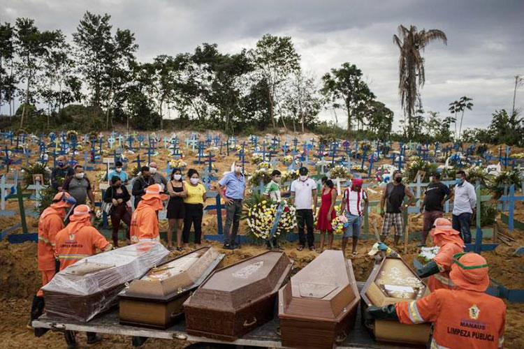 Presiden Tak Peduli Nyawa Rakyatnya, Corona di Brazil Meningkat Tajam