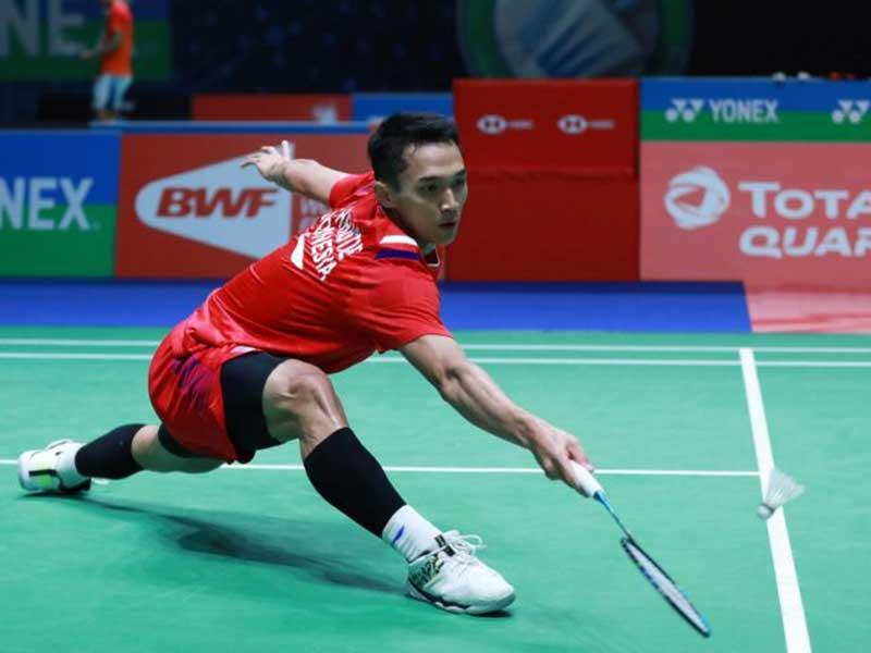 Jonatan Tumbang Dihajar Tunggal No 1 Malaysia