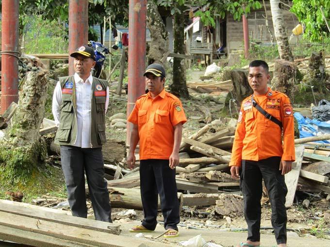 Banjir Bandang Rusak Puluhan Rumah di Ludai