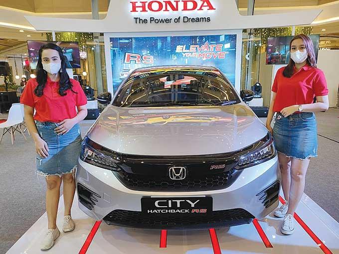 Honda City Hatchback RS Dipamerkan di Living World