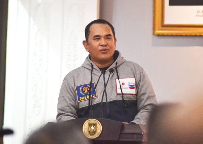 Zulmansyah ke Anggota PWI Dumai: Jaga Marwah Profesi dan Organisasi.
