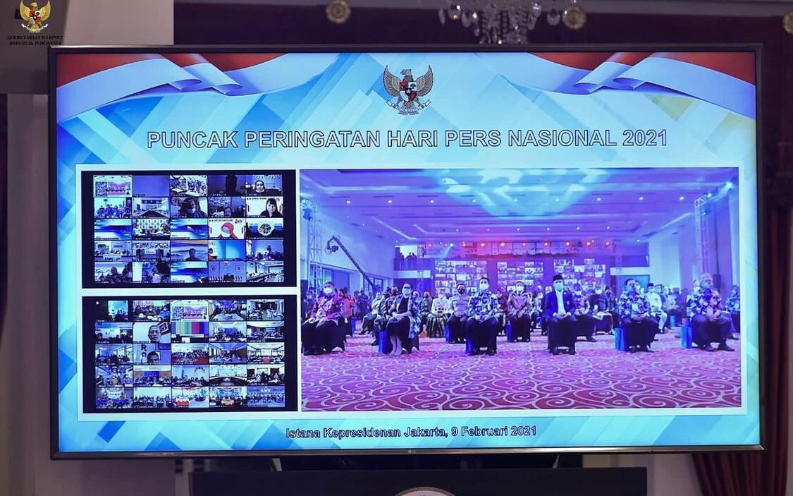 Jokowi: PPh 21 Wartawan Masuk Daftar Pajak Ditanggung Pemerintah