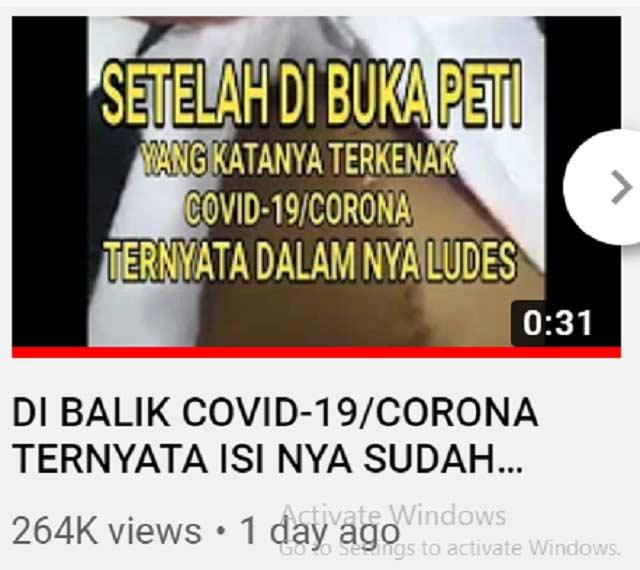 Video Pasien Covid-19 Diambil Organ Tubuhnya