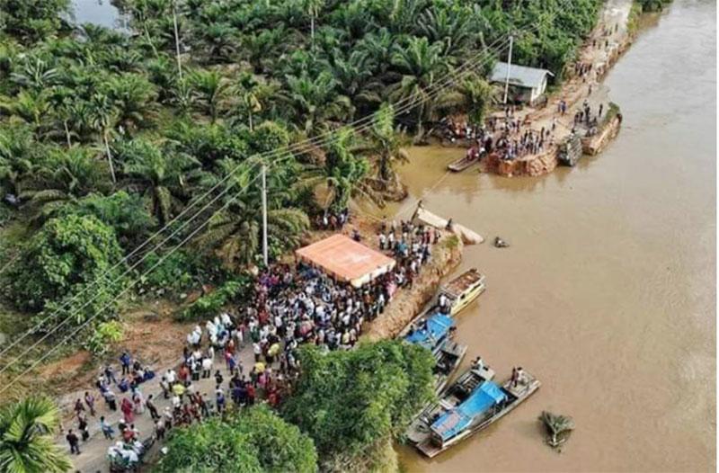 Listrik Kecamatan Batang Peranap Padam Total