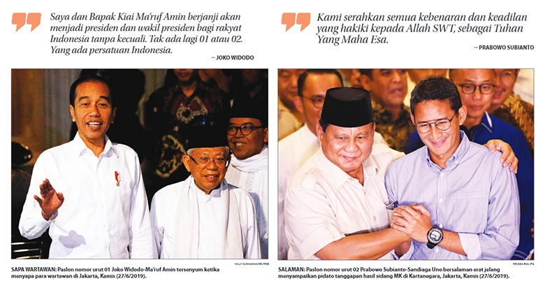 Jokowi-Ma'ruf Sudah Final